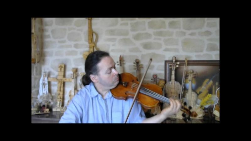 Du violon pour fêter les 1er vacances de lannée.