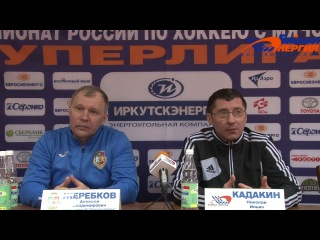 Пресс-конференция А.В. Жеребкова и Н.И. Кадакина