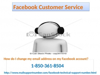 How to pleasantly avail a facebook customer service 1-850-361-8504 straight away?
