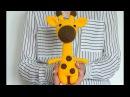 Мастер класс вяжем жирафа крючком ЧАСТЬ 2 Туловище