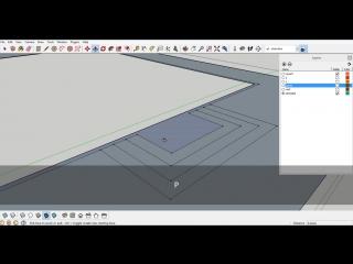 Моделирование дома в скетчапе-House modeling in SketchUP part4