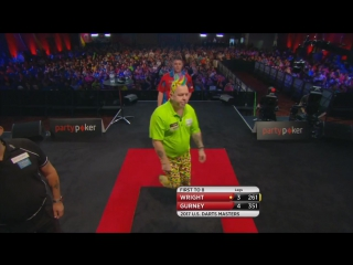 Peter Wright vs Daryl Gurney (PDC US Darts Masters 2017 / Quarter Final)
