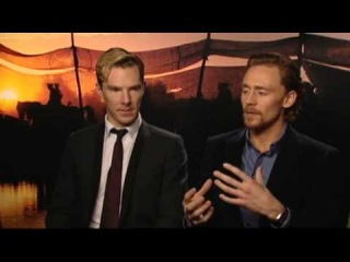 Benedict Cumberbatch & Tom Hiddleston - War Horse Press Junket #1