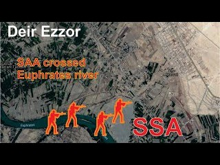[ Syria ][ ISIS Hunters ] Syria army in Deir Ezzor has crossed Euphrates river
