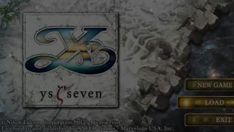 Ys SEVEN Raw Stream Playthrough Part 7 Flame shrine