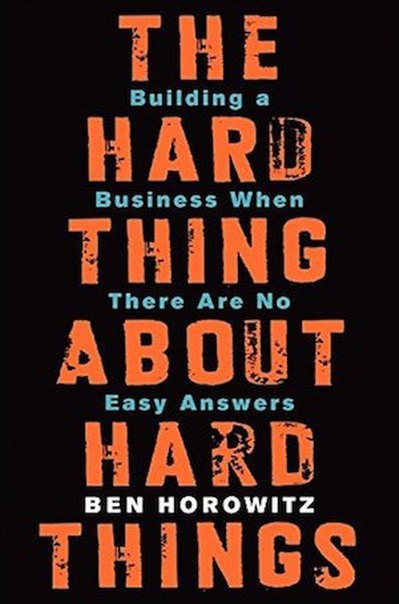 The Hard Thing About Hard Thing 1