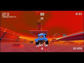 REKT! 60 FPS tricks based racer.