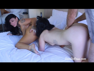 Dionderossi - rough and sensual threesome (with monte luxe (cooper)) 720p