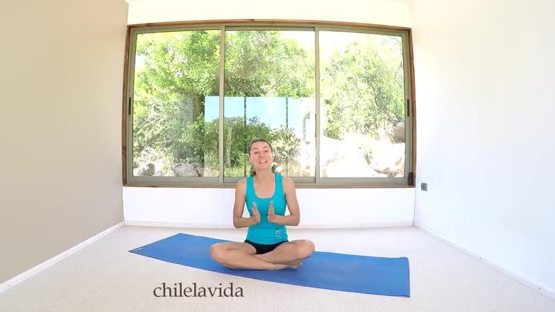 SLs Йога для женщин во время менструации Активный комплекс 40 мин