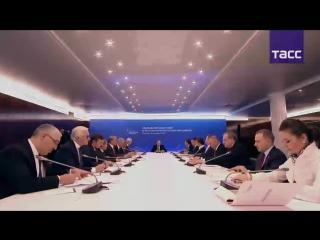 Владимир Путин проводит заседание набсовета АСИ