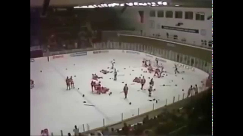 Легендарная драка СССР — Канада на МЧМ-1987 в Пьештянах Canada