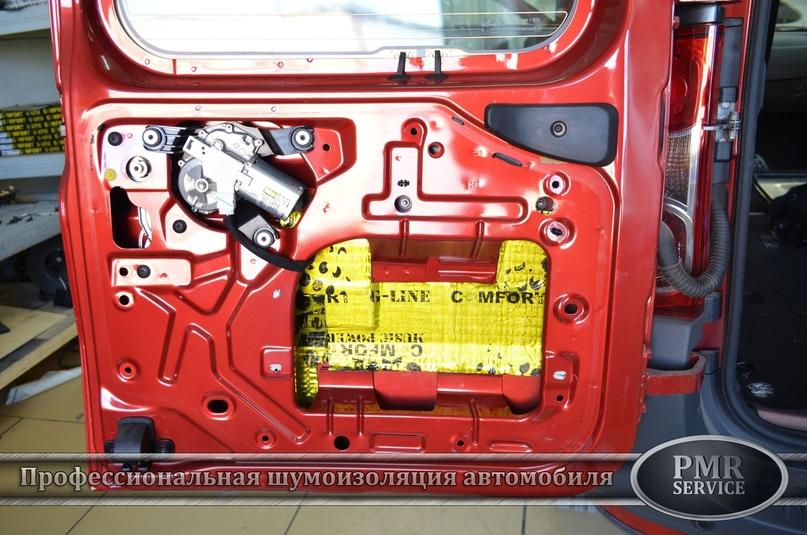 Комплексная шумоизоляция Lada Largus, изображение №16