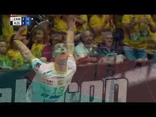 Kamil semeniuk show - 7 points in a row
