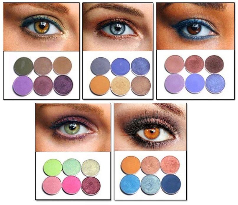 Идеальное сочетание: как подобрать тени под цвет глаз, изображение №3