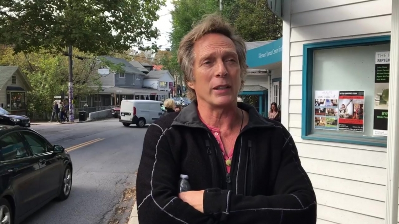 William Fichtner discuses his time at the Woodstock Film Festival Sunday
