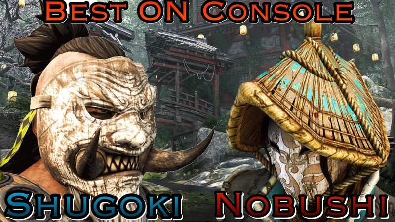 For Honor Number 1 Ranked Shugoki Vs The Best Nobushi On Console Very Technical Fight