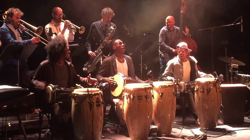 Machito    ¿Que Vola?    Trio Peligroso d'Osain del Monte    BATA DRUMS    JazzRumba    Paris