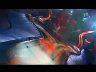 "Boaz Mauda - Ke'ilo Kan ""As If Here"" (Israel 2008,evrovision)"