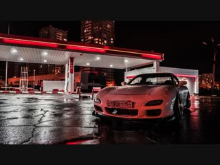 Stanced mazda rx-7 (fd): bc racing & work meister s1 3p