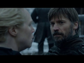 Game of Thrones Season 8 Episode 2- Jaime Lannister and Lady Brienne