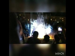 Лазерное сопровождение  Фестиваля воздушных шаров г.Волгоград