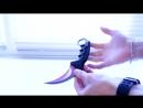 Керамбит с Aliexpress! Точная копия ножа керамбит градиент с CS GO!