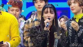 [HOT] 1월 3주차 1위 '청하 - 벌써 12시(Chung Ha -  Gotta Go)' Show Music core 20190119
