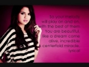 Love You Like A Love Song Baby - Selena Gomez Lyrics