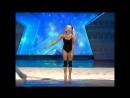 Ева Шиянова на шоу талантов в Грузии