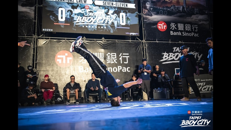 R.F Jam 4on4 FINAL:Predatorz Crew vs Seven-Eleven|2018 Taipei Bboy City | Danceproject.info