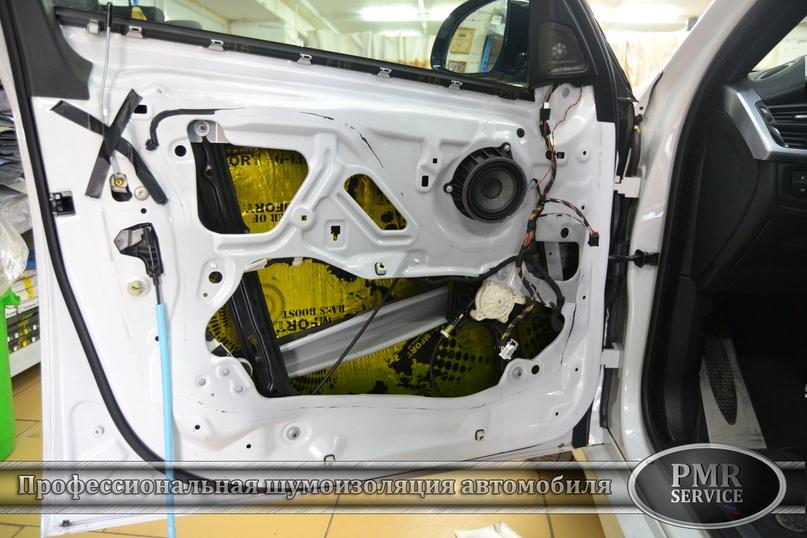 Шумоизоляция BMW X6 M, изображение №13