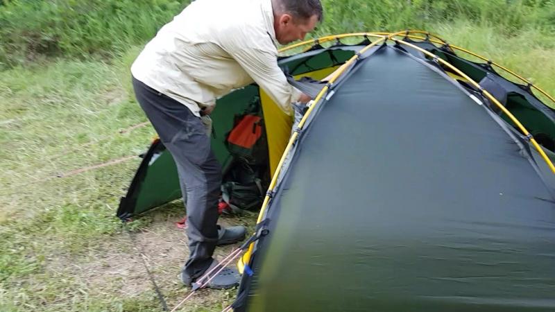 Обзор палаток Hilleberg Allak 2 и Akto