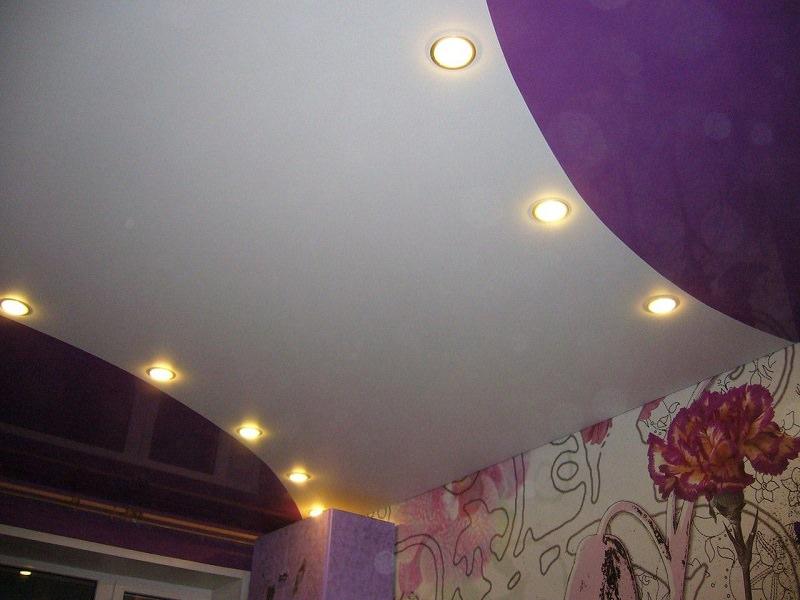 Натяжные потолки никополь фото