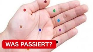 Drücke diese Punkte auf der Handfläche und schau was passiert!