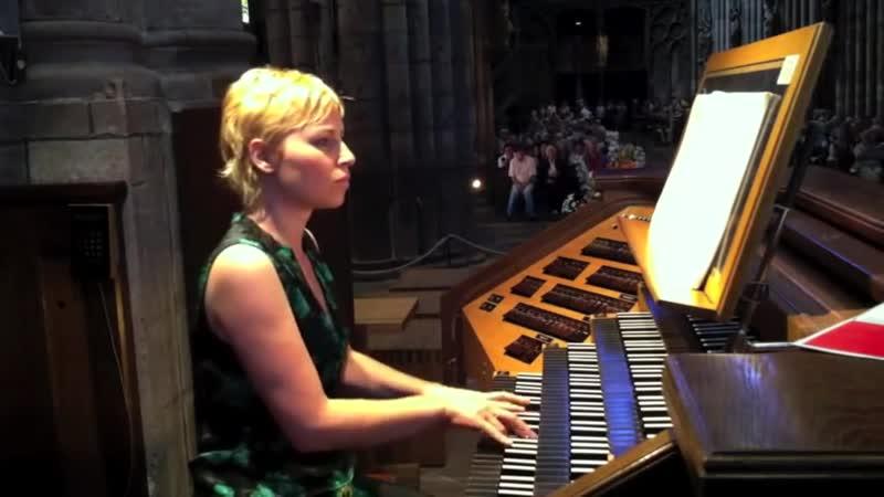 547 J S Bach Prelude and Fugue in C major BWV 547 Daniela Timokhine organ