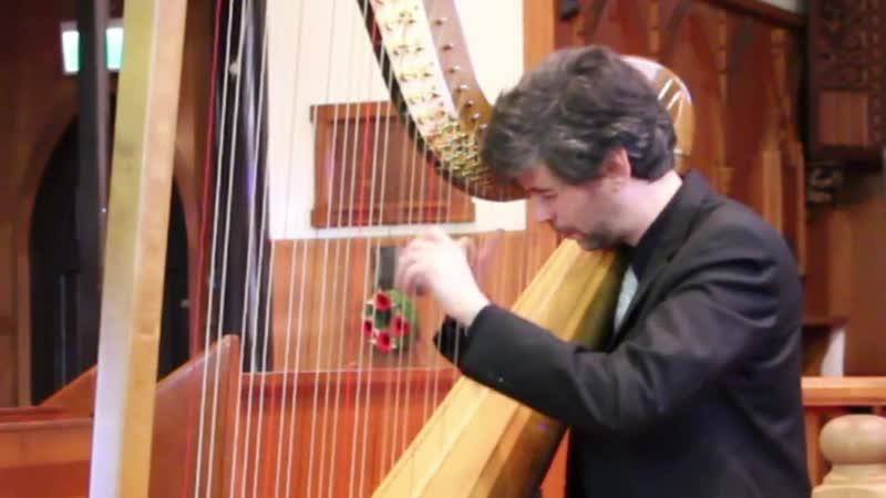 996 J S Bach Suite in E minor BWV 996 Josh Layne harp