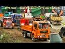 RC TRUCKS, RC TRACTORS, RC EXCAVATORS AND MORE! BIG RC CONSTRUCTION SITE ACTION!