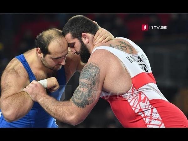 Kajaia Arabuli Final GR 130 kg Georgian Championship 2019 Tbilisi