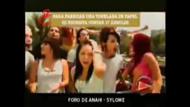 RBD Kudai Eiza Estar bien Быть в форме клип снятый для кампании по борьбе с анорексией булемией и ожирением