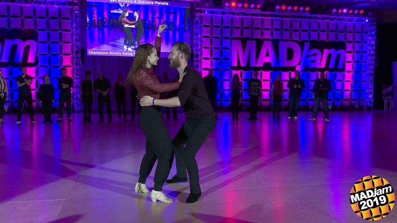 MADjam 2019 Champions Strictly Swing Ben McHenry Chantelle Pianetta