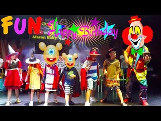 Fun kids videos   Mini Disco   Happy Birthday   Funny Clown Show   Ballon Challenge   Kirman Belazur