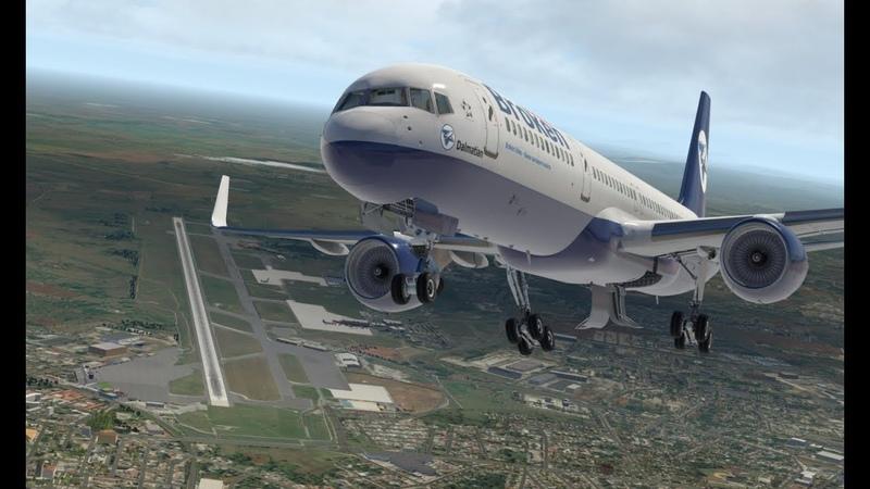 Жажда скорости Boeing 757 200 FF Комлексный отказ