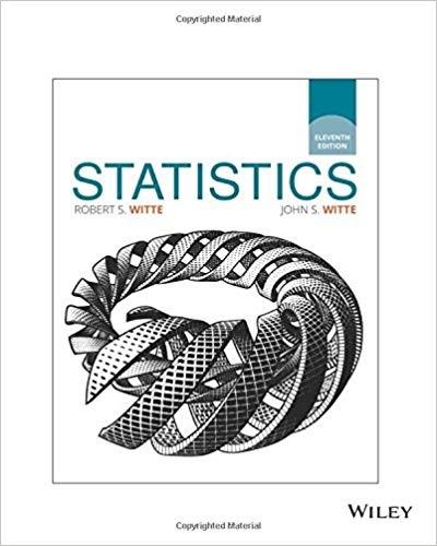 Statistics, 11th Edition