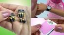 3 COISAS INCRÍVEIS para Barbie e outras Bonecas Pilhas Relógio de Pulso e Balança