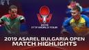 Marcos Freitas vs Viktor Yefimov | 2019 ITTF Bulgaria Open Highlights (Pre)