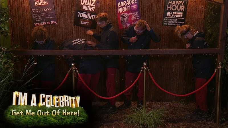 Jungle Arms Quiz Gives Celebs More Than They Bargained for Im A Celebrity Get Me Out Of Here!