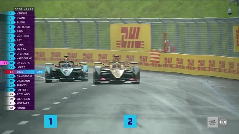2019 Julius Baer Swiss E-Prix _ Race Highlights _ A Tense Fight To The Finish