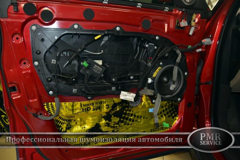 Комплексная шумоизоляция Land Rover Evoque, изображение №17