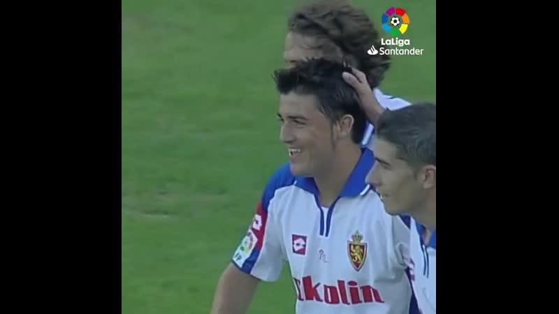 Первый гол Давида Вильи в LaLiga