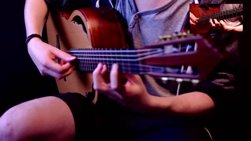 The Witcher 3 Tribute Guitar Medley by Lukasz Kapuscinski